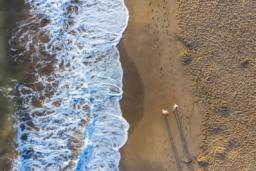 Campingplatz Serignan Plage Herault am Meer